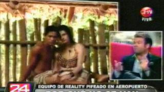 Equipo de reality chileno fue pifiado en aeropuerto tras burlas a los Bora