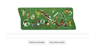 Google despide los Juegos Olímpicos con 'doodle' recopilatorio