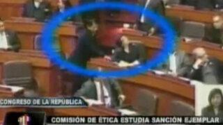 Sancionarán a congresista Condori por cambiar el voto de colega Rosa Mavila