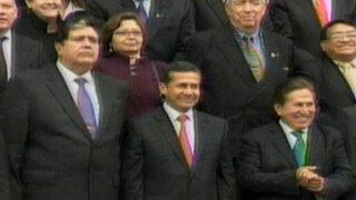 Acuerdo Nacional reúne a Ollanta Humala con expresidentes peruanos