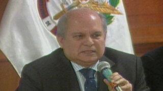 Pedro Cateriano supervisó el desarrollo del Simulacro de Sismo en el CCFFAA