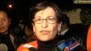Barrios Altos: Alcaldesa de Lima llega para participar en simulacro