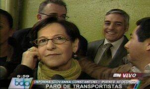 Susana Villarán: Asumo la responsabilidad de lo ocurrido en La Parada