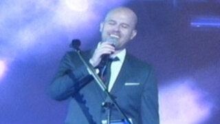 Gianmarco inicia concierto por celebración de sus 20 años