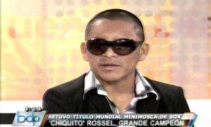 """Alberto """"Chiquito"""" Rossel en Buenos Días Perú"""