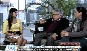 Indecopi acogió denuncia de discapacitado maltratado en show de Gianmarco