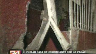 Estallan dinamita en vivienda de comerciantes que se negaron a pagar cupos