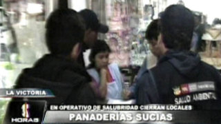Clausuran panaderías que trabajaban en pésimas condiciones sanitarias