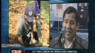 Ministro Pedraza: Ser declarado héroe nacional es una valla bastante alta