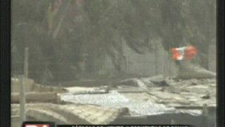 Ráfagas de viento y tormentas de polvo azotan Pisco e Ica
