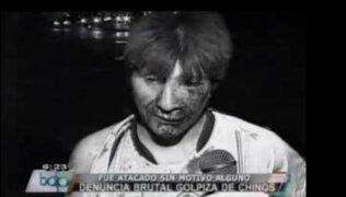 VIDEO: hombre acusa a ciudadanos chinos por brutal golpiza