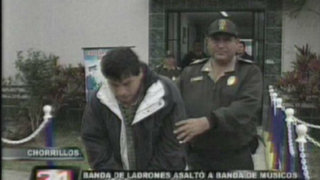 Capturan a peligrosa banda de asaltantes en Chorrillos