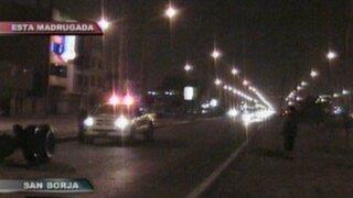 Densa neblina en Lima ocasionó  accidentes de tránsito