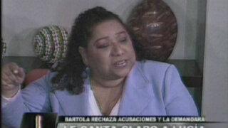 Bartola rechaza acusaciones de Lucía de la Cruz y señala que la demandará