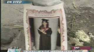 Madre de universitaria asesinada acusa del crimen a novio que era casado