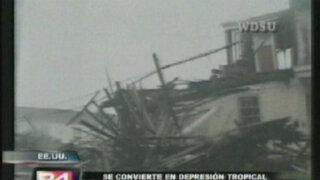 Tormenta 'Isaac' provoca muerte y destrucción en Louisiana
