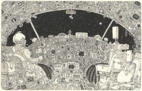 Increíbles ilustraciones sobre papel de Mattias Adolfsson