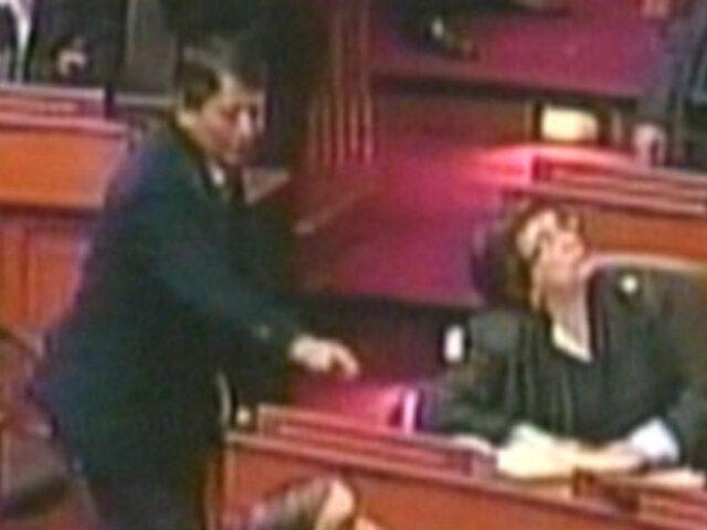 Congresista de 'Gana Perú' le roba un voto a su colega Rosa Mavila