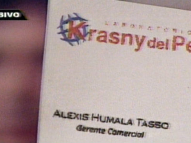 Krasny fue inhabilitada definitivamente para contratar con el Estado
