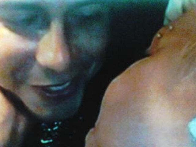 Ampayan a Lucía de la Cruz y Andy V en románticas escenas
