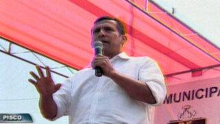 Ollanta Humala sobre denuncias en Pensión 65: ¡Fuera los corruptos!