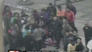Volcadura de movilidad escolar en San Miguel deja unos seis niños heridos