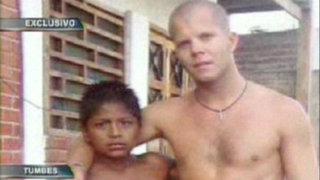 Niño héroe salvó de morir ahogado a turista extranjero