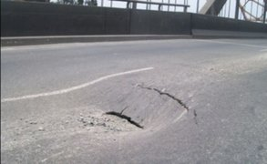 VIDEO: Continúan trabajos en el Puente del Ejército por forado en la vía