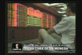 Bolsas de Asia cierran con alza de acciones