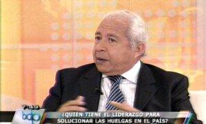 Juan Paredes: Raúl Salazar debe presentar su carta de renuncia
