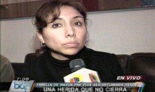 Deudos de Nancy Flores piden investigar a responsables de Operación Libertad