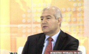 "Ministro Wilfredo Pedraza habla sobre captura de camarada ""William"""