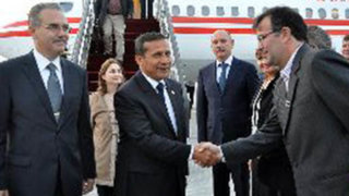 Presidente Ollanta Humala llega a Rusia para participar en  Cumbre APEC