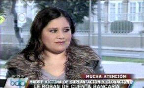 Delincuentes roban ahorros en banco de mujer embarazada