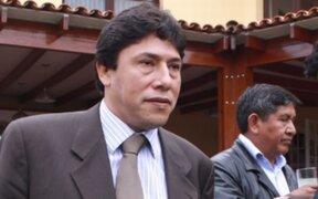 Alexis Humala abandonó de manera intempestiva Comisión de Fiscalización