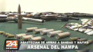 Capturan a abastecedores ilegales de armas en Comas