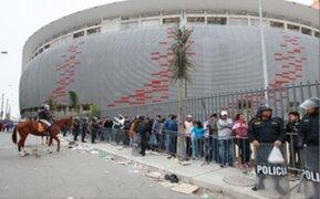 Gran expectativa entre público para el partido entre Perú y Argentina