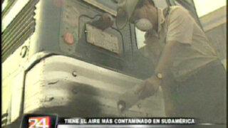 ¡Alarmante! Aire de Lima es el más contaminado en toda Sudamérica