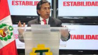 Alejandro Toledo declara bajo juramento solo tener dos viviendas