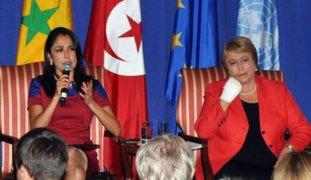 Nadine Heredia admite que ley impide su candidatura en 2016