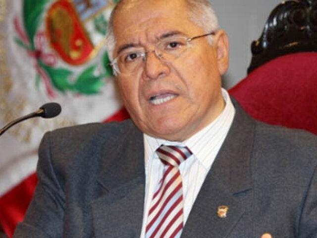 CNM investigará a César San Martín por audio del caso Chavín de Huántar