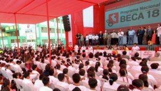 Programa Beca18 tendrá 10 mil jóvenes beneficiados en 2013