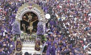 Perú se viste de morado: Fieles acompañan al Señor de Los Milagros