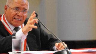 CNM abre investigación a juez César San Martín por aparecer en agenda de Nadine Heredia