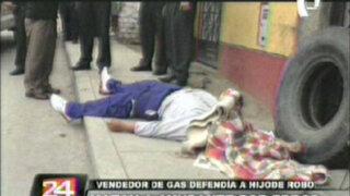 Vendedor de gas mató a su ayudante por error en SJL
