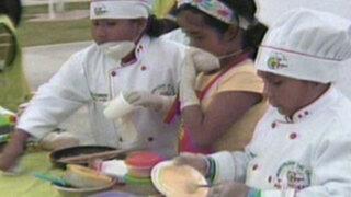 Callao: 'mini chefs' sorprenden con platos de gastronomía peruana