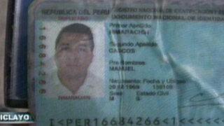 Chiclayo: asesinan a balazos a dirigente de azucarera Tumán