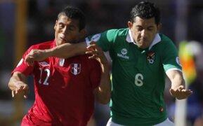 Perú suma un punto al empatar a 1 con Bolivia