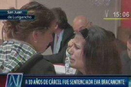 Eva Bracamonte fue condenada a 30 años de prisión por asesinato de Myriam Fefer