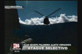 Clan Quispe Palomino alista venganza de ataque selectivo